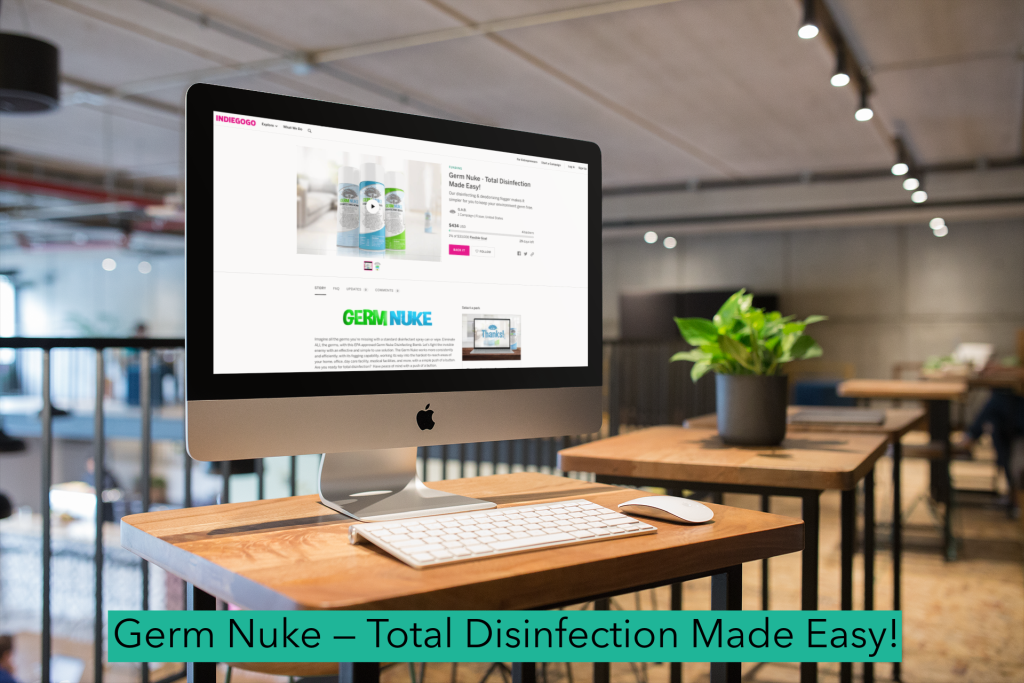 Germ Nuke — Total Disinfection Made Easy