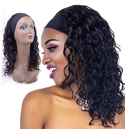 Natural Hairline Water Wave Wigs Human Hair