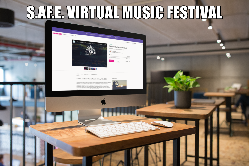 S.AF.E. Virtual Music Festival: Stay Safe and Have Fun from Home