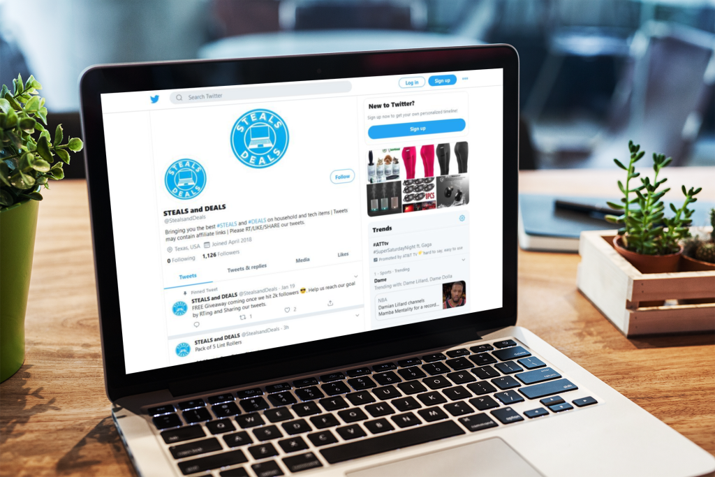 Steals and Deals: Find Daily Deals on Twitter