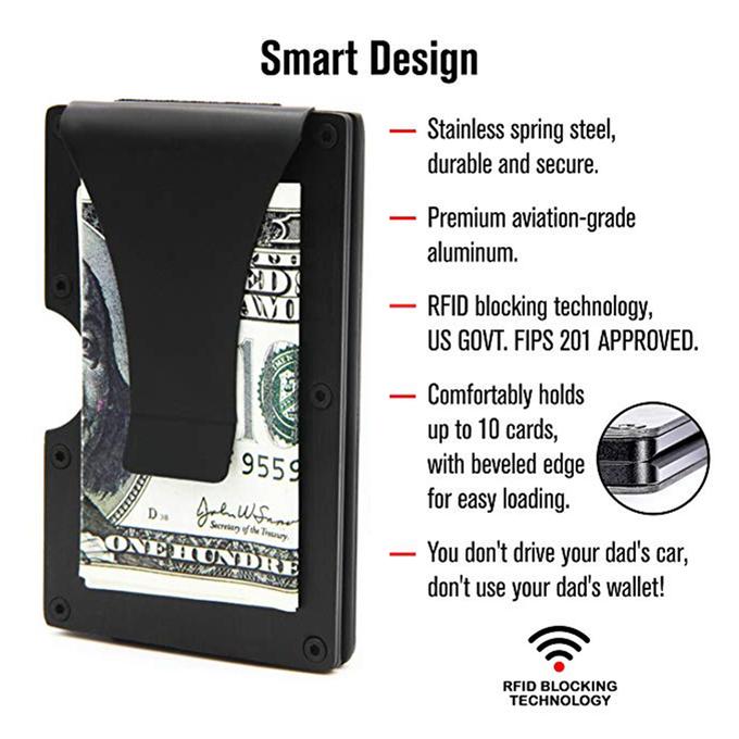 Lux Wallet<sup>®</sup> — Sleek, Lightweight, Durable